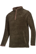Baleno Mens Hamlington Fleece Green Khaki