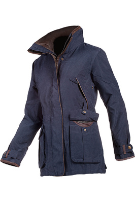 Baleno Womens Ascot Jacket Navy Blue
