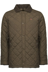 Dubarry Mens Clonard Quilted Jacket Dark Olive