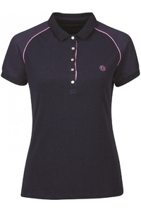 Dublin Womens Keller Short Sleeve Polo Navy