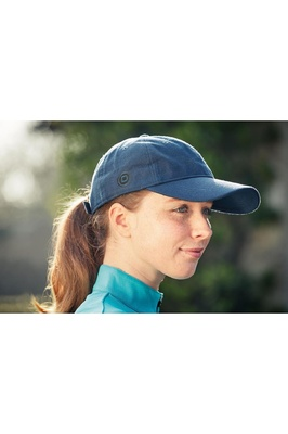 Dublin Perry Cap Adults One Size Indigo / Grey