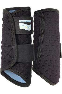 Equilibrium Stretch & Flex Flatwork Wraps Black