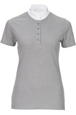 Pikeur Womens Turnier Shirt - Light Grey Melange