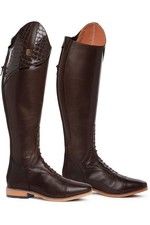 2021 Mountain Horse Womens Sovereign LUX Tall Riding Boots - Dark Brown 02143