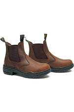 Mountain Horse Childrens Stable Jodhpur Boots Cinnamon
