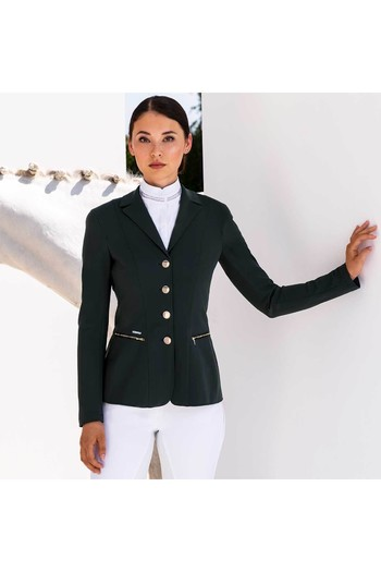 Pikeur Womens Paulin Show Jacket - Dark Green