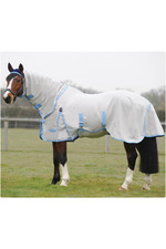 Weatherbeeta Sweet Itch Shield Combo Neck White / Blue 1006209