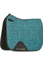Weatherbeeta Prime Leopard Dressage Saddle Pad 1006959006 Turquoise Leopard Print